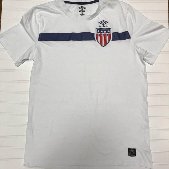 Umbro Other - UMBRO Short Sleeve T 🇺🇸 U.S.A.  EUC!    XL